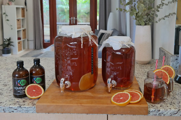 Karl Kombucha brewing kits diabetes