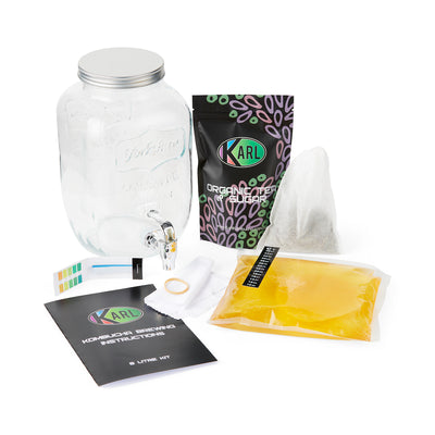Kombucha Brewing Kit, 4 Litre Vessel
