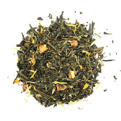 Organic Apple Mojito Energy Tea, Loose leaf Tea, Energy