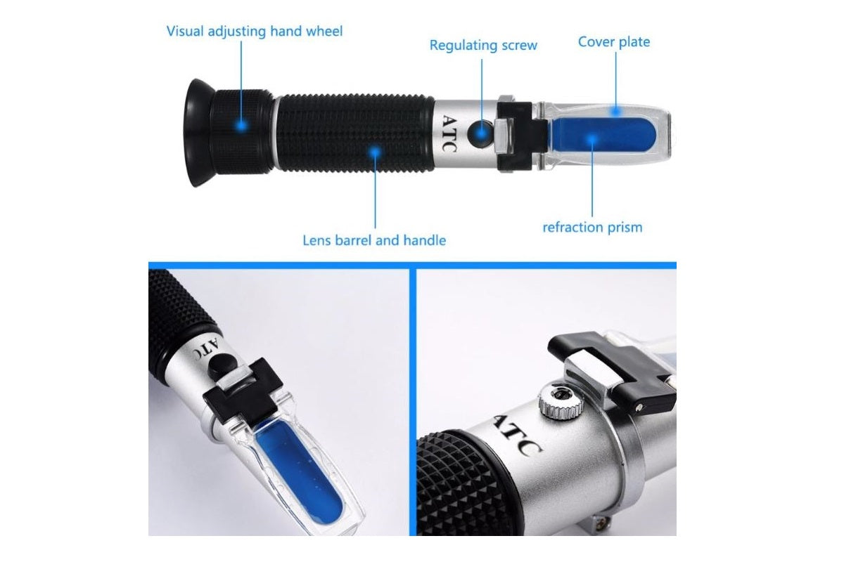 Refractometer, Keep track of your sugar levels!