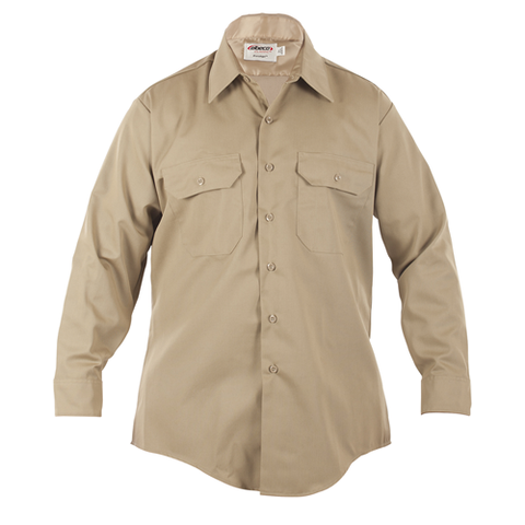 Mens, Silver Tan, LA County Sheriff West Coast Long Sleeve Shirt, Class B