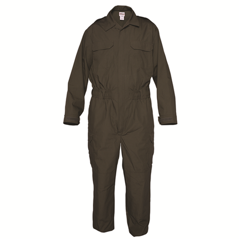 Men's O.D. Green California Dept of Corrections Transcon Line Duty Jumpsuit, Long
