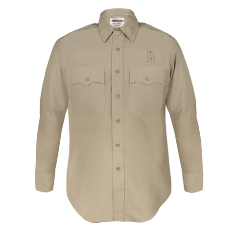 Mens, Silver Tan, LA County Sheriff West Coast Long Sleeve Shirt