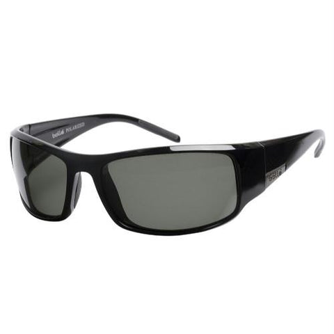 Bolle King Sunglasses Shiny Black Plzd 10997
