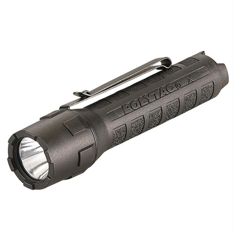 Streamlight Polytac X USB Flashlight w-USB Battery Black