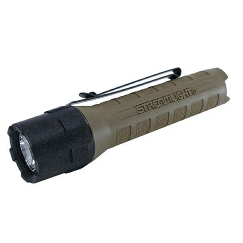 Streamlight Polytac X USB Flashlight w-USB Battery Coyote