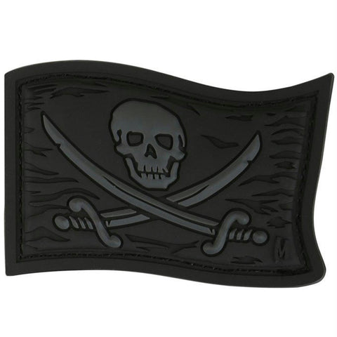 Maxpedition Jolly Roger Patch Stealth 2.25 x 1.5