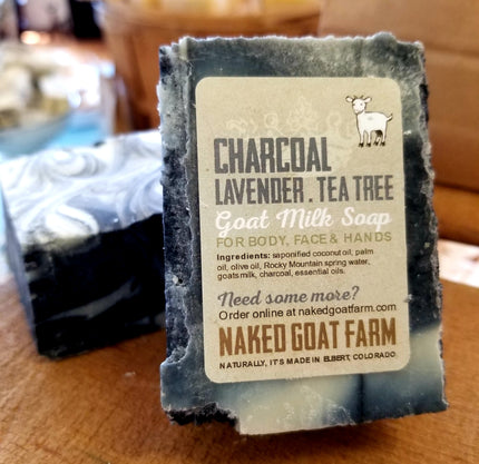 Goat Milk Soap Charcoal