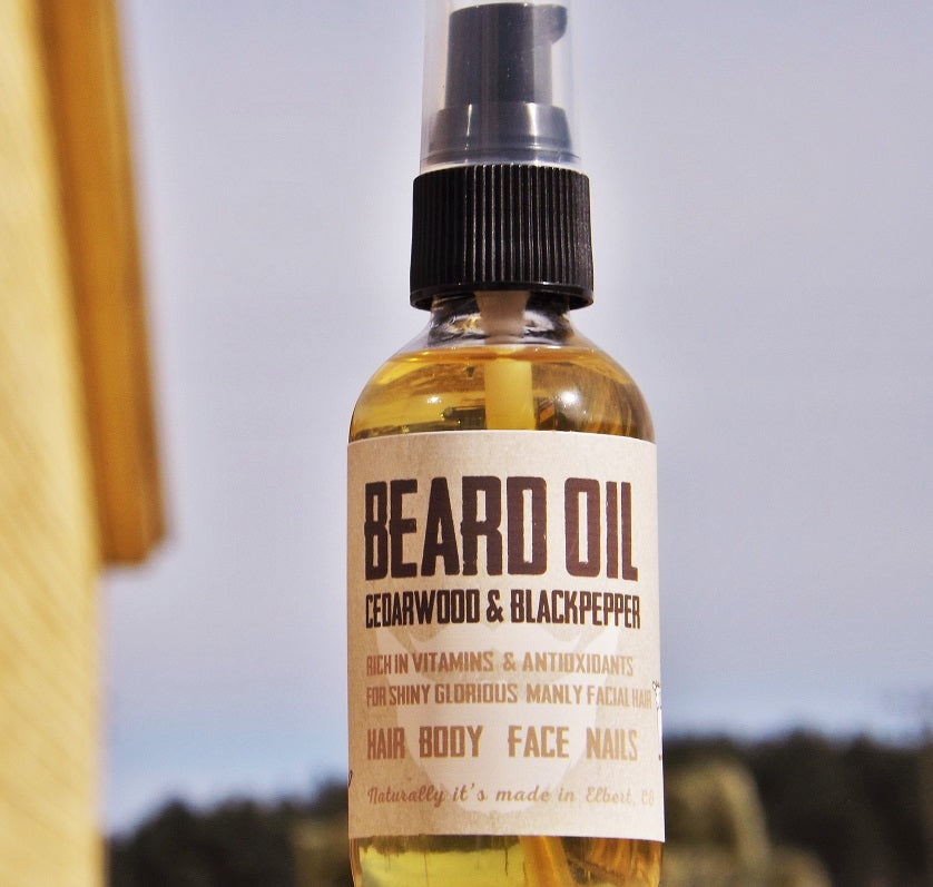 Beard Oil - nakedgoatfarm