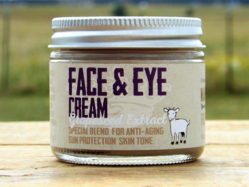 Face & Eye Cream Grapeseed Extract - nakedgoatfarm