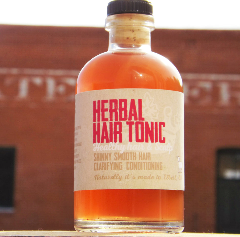 Herbal Hair Tonic - nakedgoatfarm