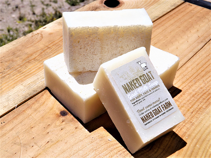 Goat Milk Soap Naked - nakedgoatfarm