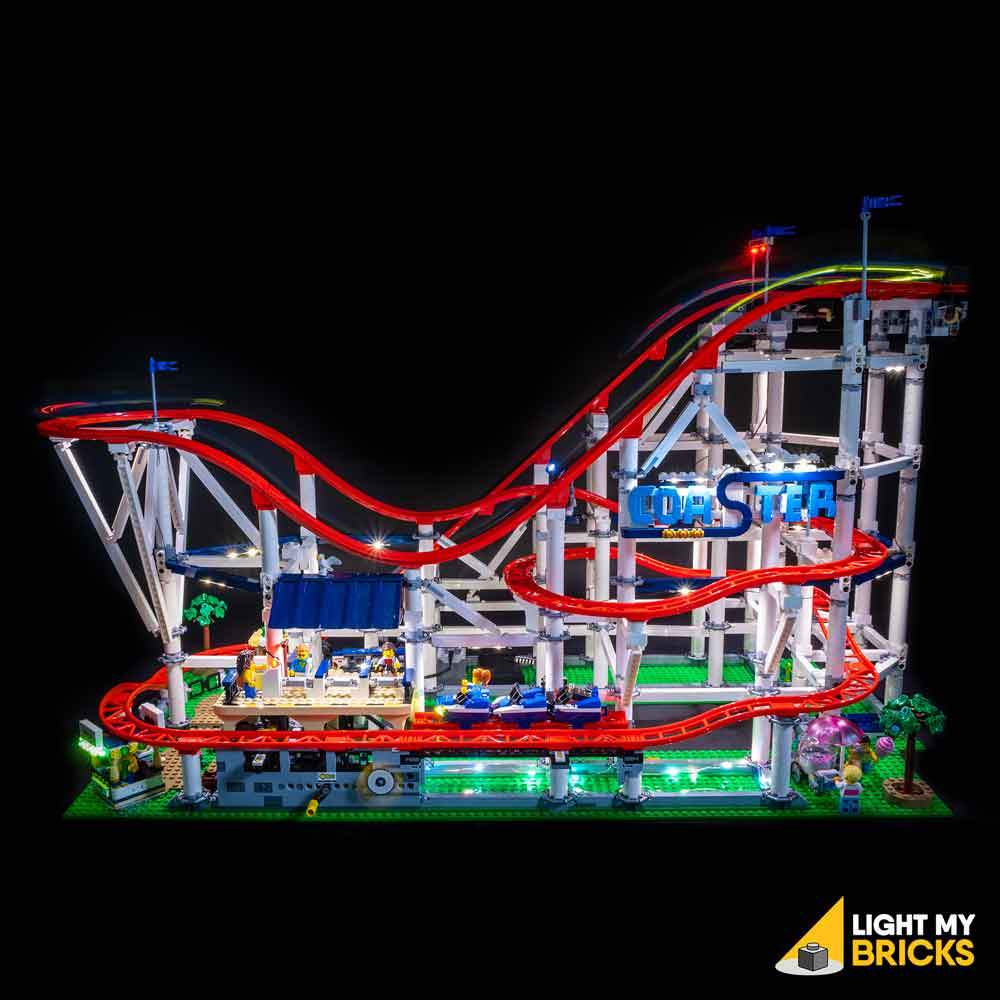 LEGO Roller Coaster 10219 Review and Lighting Journal