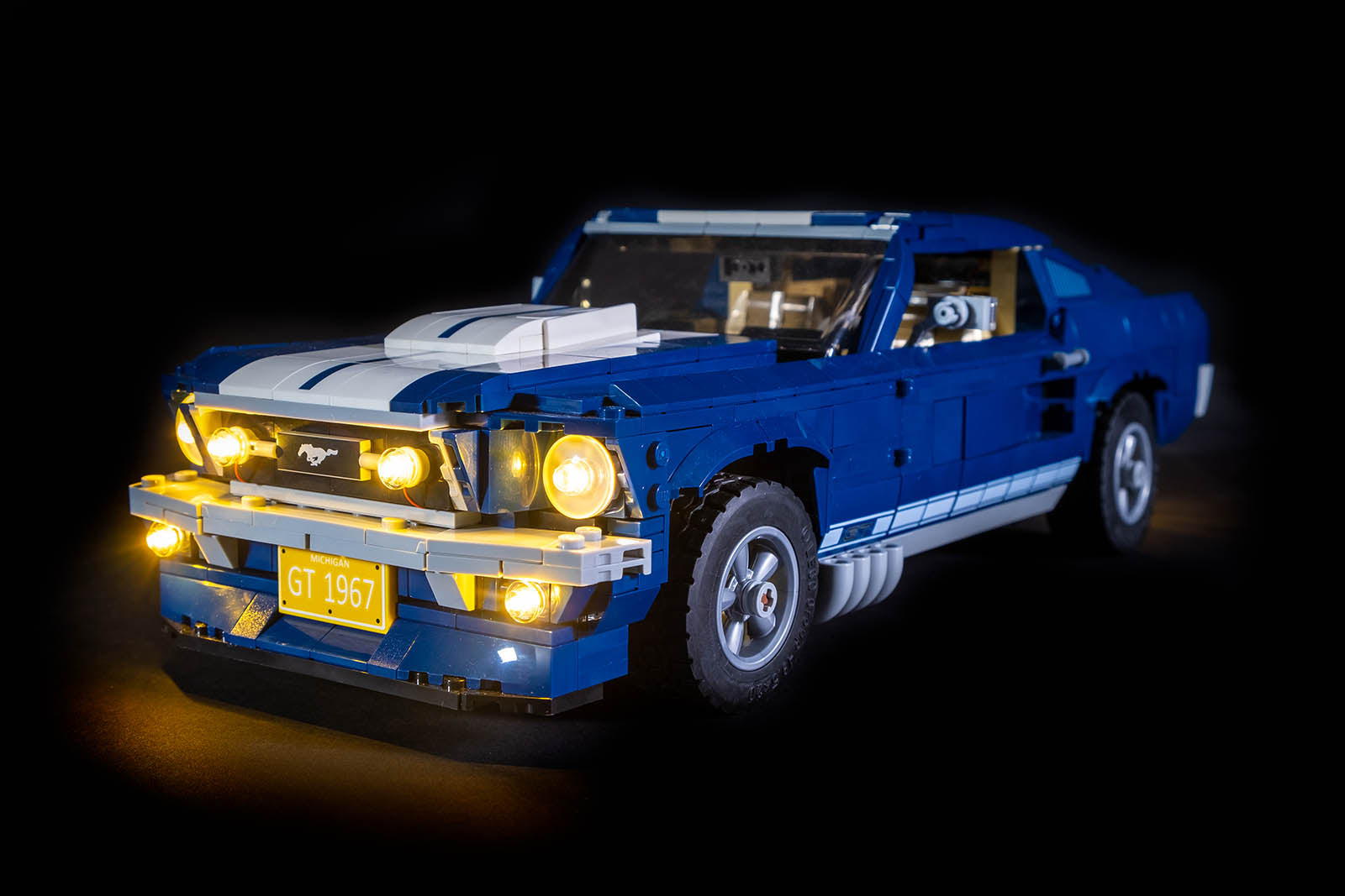 LEGO Ford Mustang GT 10265 Review & Lighting Journal