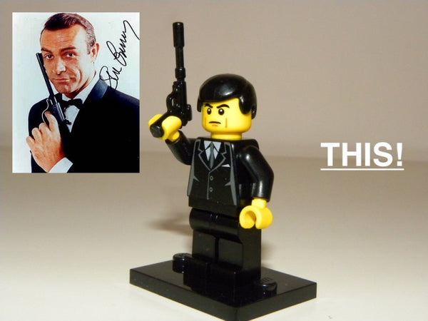 James Bond LEGO Minifigure