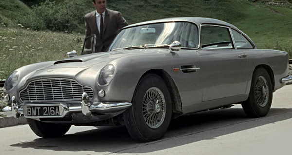 James Bond Aston Martin DB5 from Goldfinger