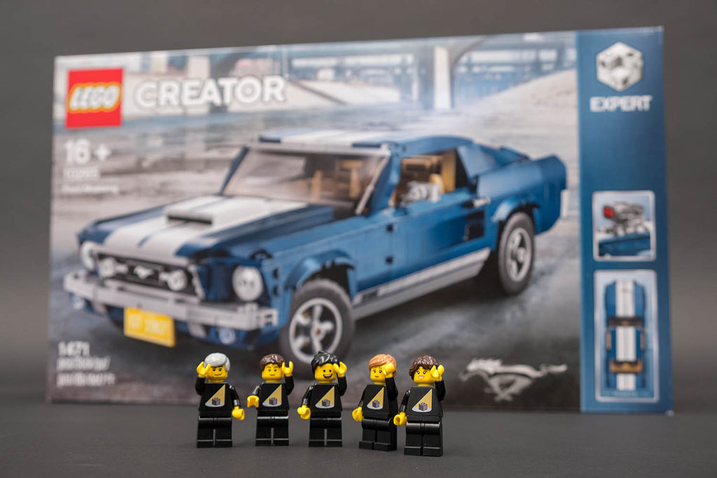 Ford Mustang GT LEGO box