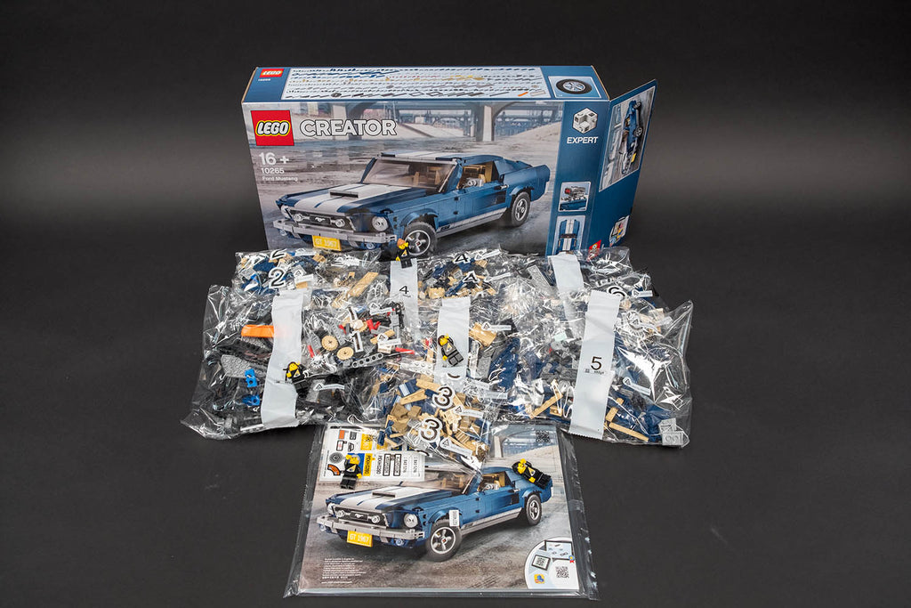 Ford Mustang GT LEGO pieces