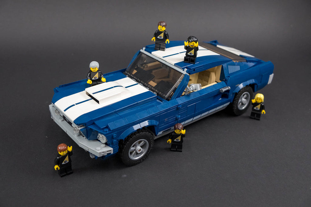 Ford Mustang GT Lego Complete
