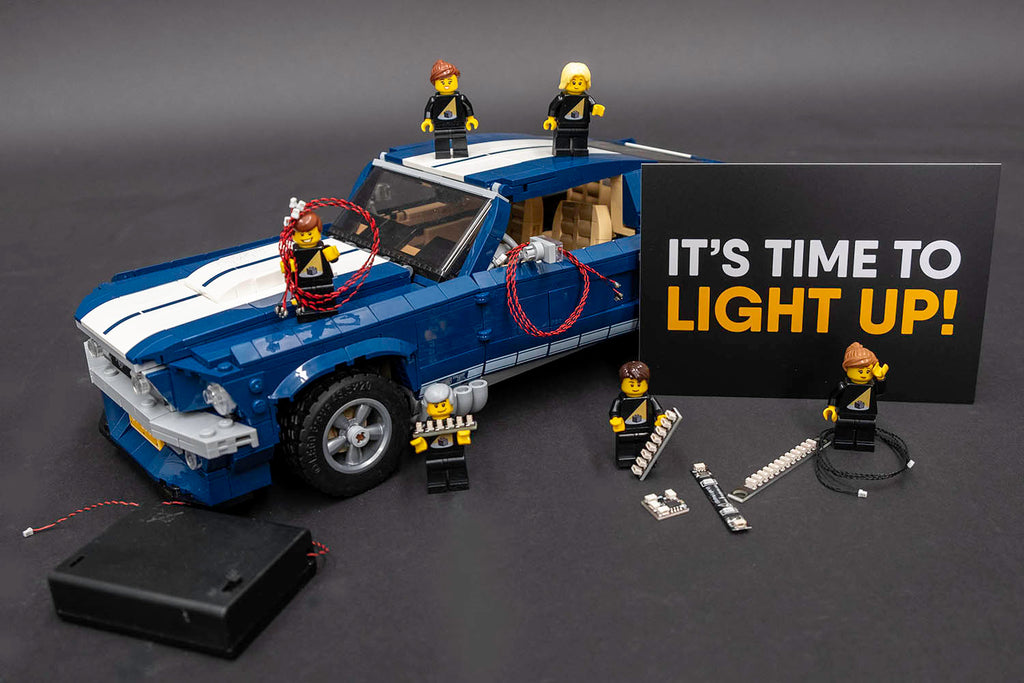 LEGO Ford Mustang GT 10265 Review & Lighting Journal - Light My Bricks