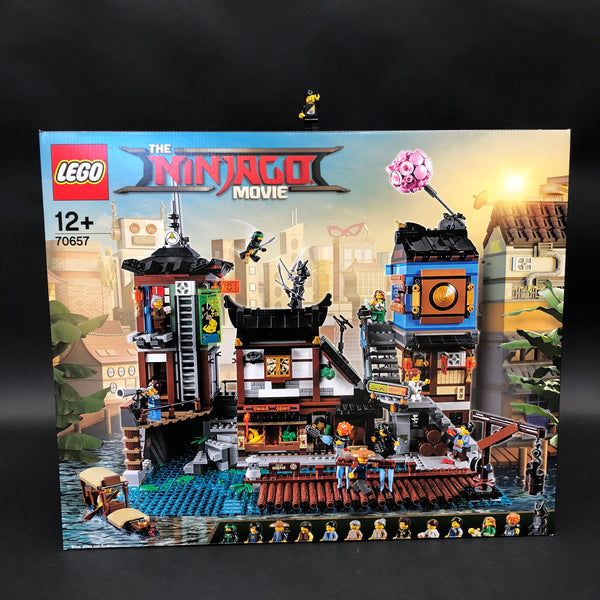 Ninjago City Docks LEGO Box packaging