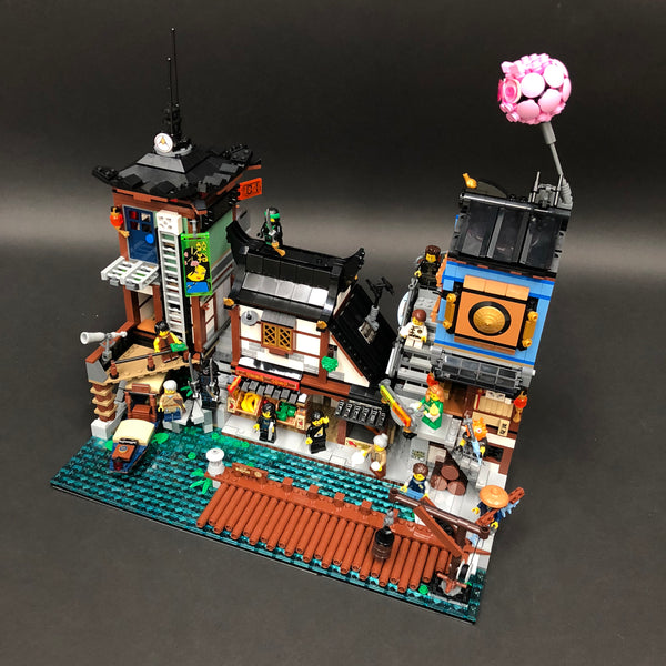 Ninjago City Complete Build
