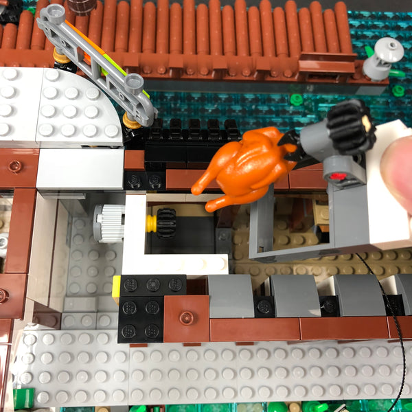 Ninjago City Chicken Rotisserie Lights