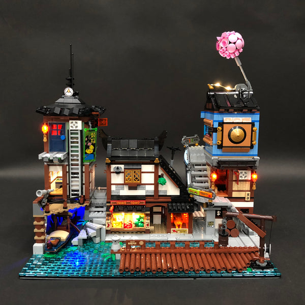 Ninjago City LEGO Lights
