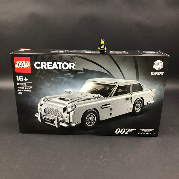 Box of LEGO James Bond Aston Martin DB5 set