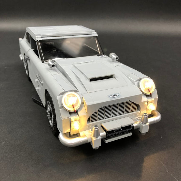 LEGO Aston Martin DB5 Lit Up