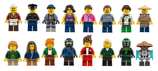 LEGO Ninjago City Minifigures