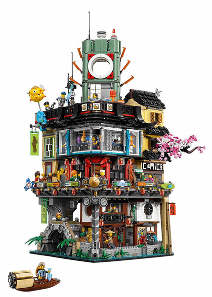 LEGO Ninjago City Full Set