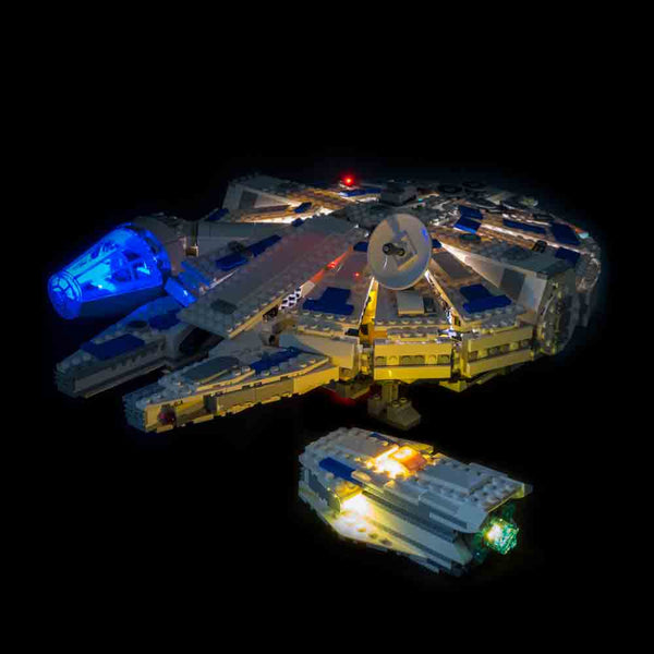 LEGO Kessel Run Millennium Falcon 75212 Lit Up Detached