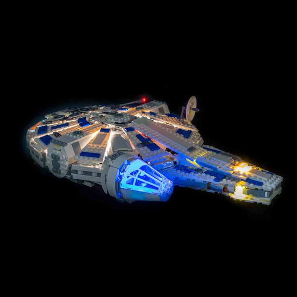 LEGO Kessel Run Millennium Falcon 75212 Lit Up