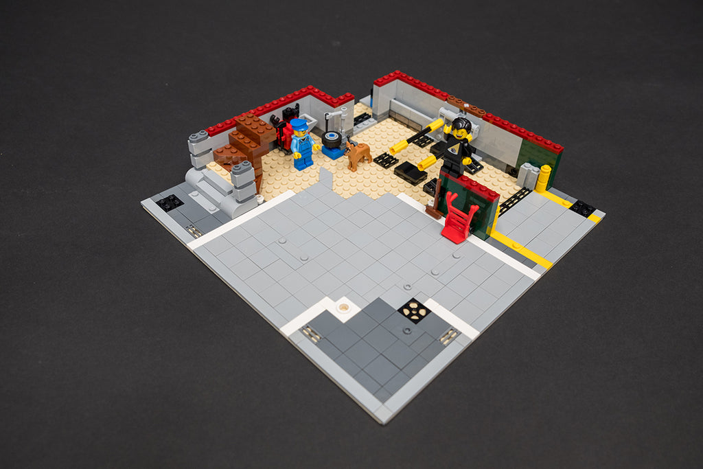 LEGO Corner Garage 10264 First Floor Build