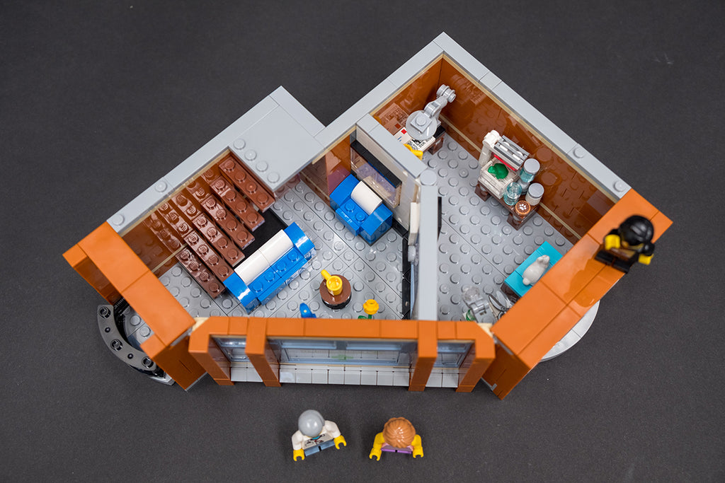 LEGO Corner Garage Second Floor Build