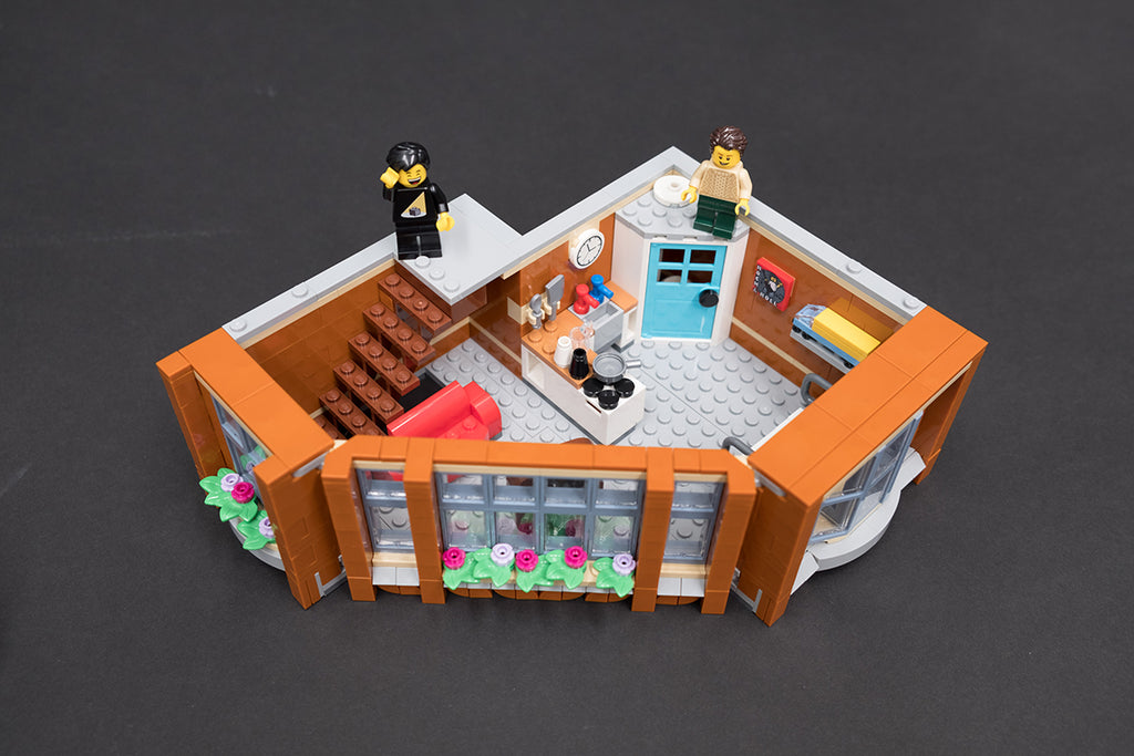 LEGO Corner Garage Top Floor Build