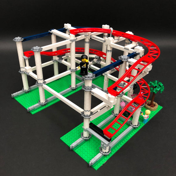 LEGO Roller Coaster Red Rails