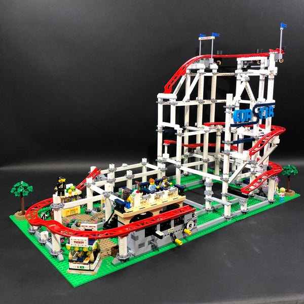 LEGO Roller Coaster Ticket Booth