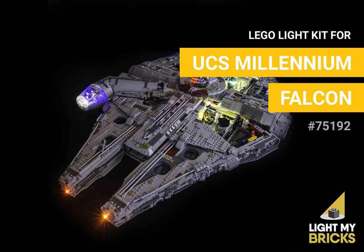 LEGO UCS Millennium Falcon Light Kit