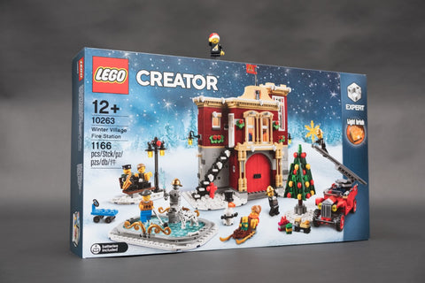 Box for LEGO Winter Village Fire Stations 10263