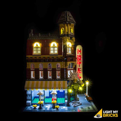 LEGO LED Light Kit for 10182 Cafe Corner Side 2