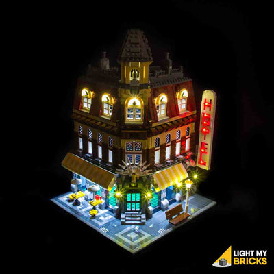 LEGO LED Light Kit for 10182 Cafe Corner Front