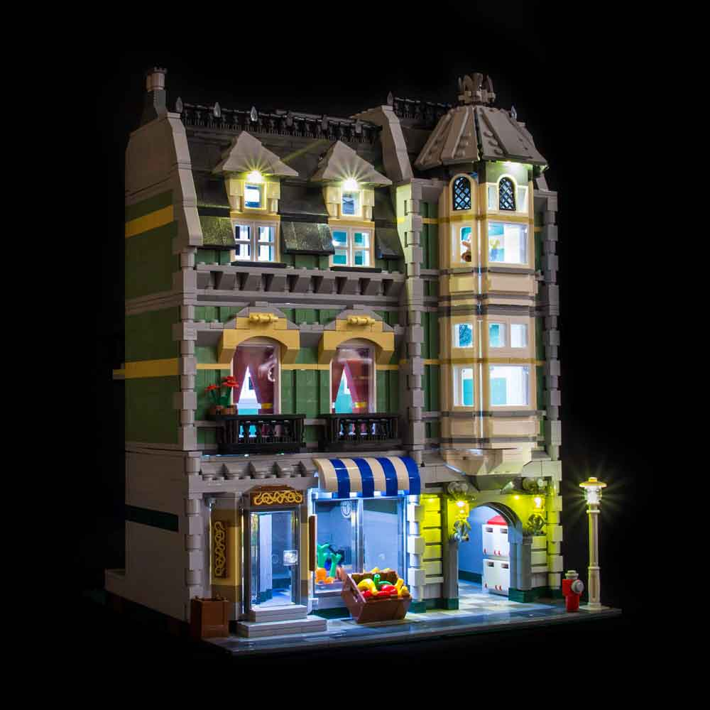 LEGO Green Grocer #10185 Light Kit