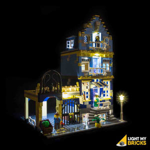 LEGO LED Light Kit for 10190 Market Street Front