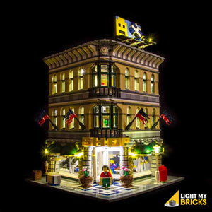 LEGO LED Light Kit for 10211 Grand Emporium Front
