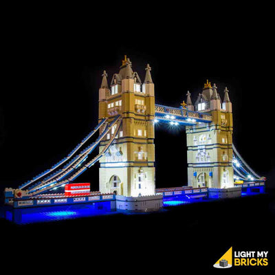 LEGO LED Light Kit for 10214 Tower Bridge Front