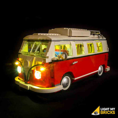 LEGO LED Light Kit for 10220 Volkswagen T1 Camper Van Front