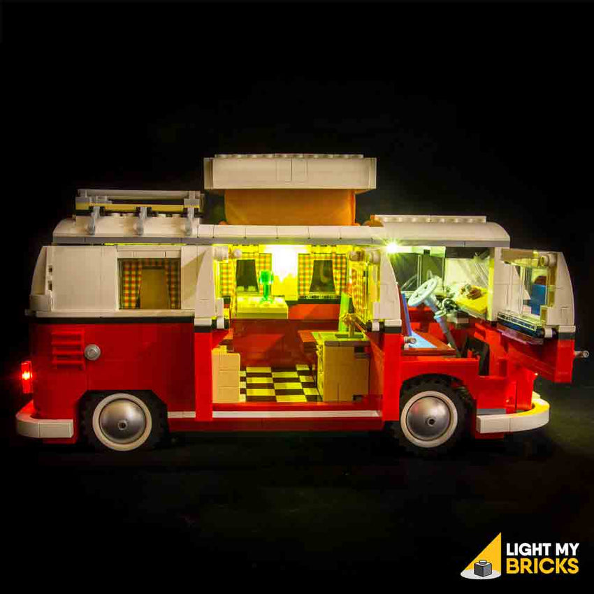 volkswagen t1 camper van 10220 lego light kit light my. Black Bedroom Furniture Sets. Home Design Ideas