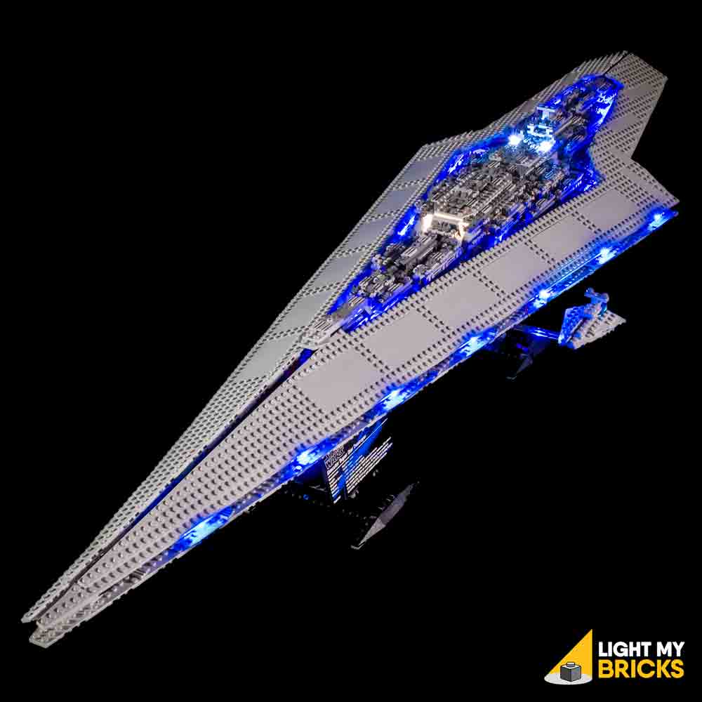 LED Licht Light Kit für UCS Lego® 10221 Star Wars Imperial executor Rear light
